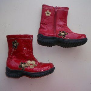 Other - Red Boots Toddler Girl Size 8